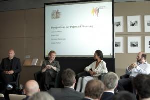 (2) Die UDJ-Vorsitzende Julia Hülsmann beim Jubiläum der Initiative Musik