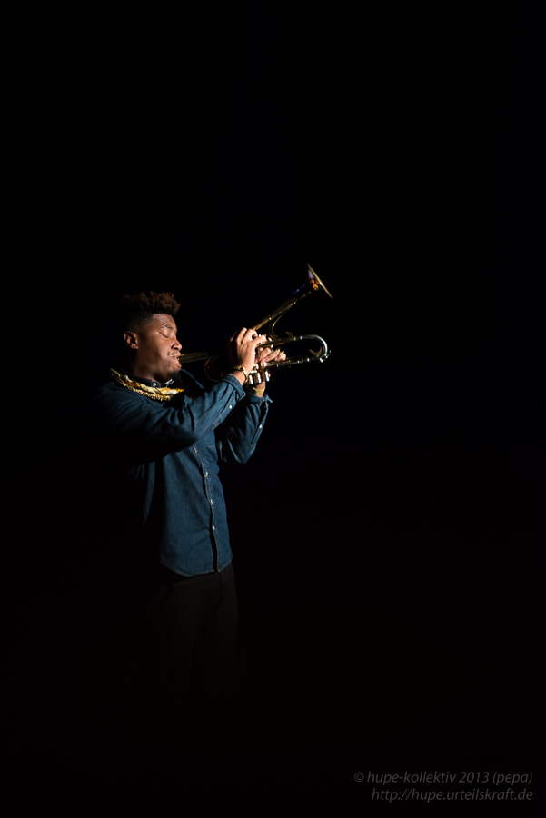 Christian Scott. Foto: Petra Basche