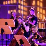 """Das Streicher-Jazz-Orchester """"Chili Strings"""" aus Fürstenfeldbruck. Foto:"""