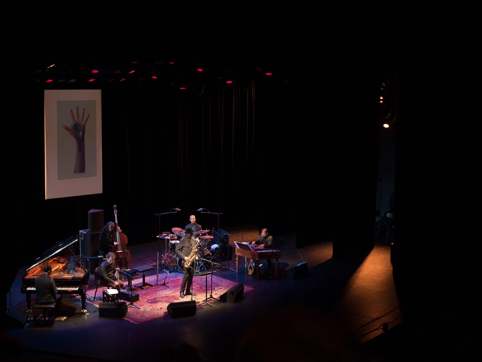 Charles Lloyd beim Jazzfest Berlin 2015. Foto: Martin Hufner