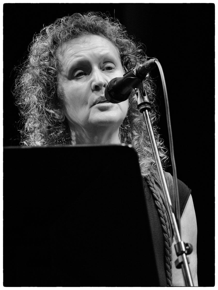 Keith Tippett Octet beim Jazzfest Berlin (hier: Julie Tippets). Foto: Petra