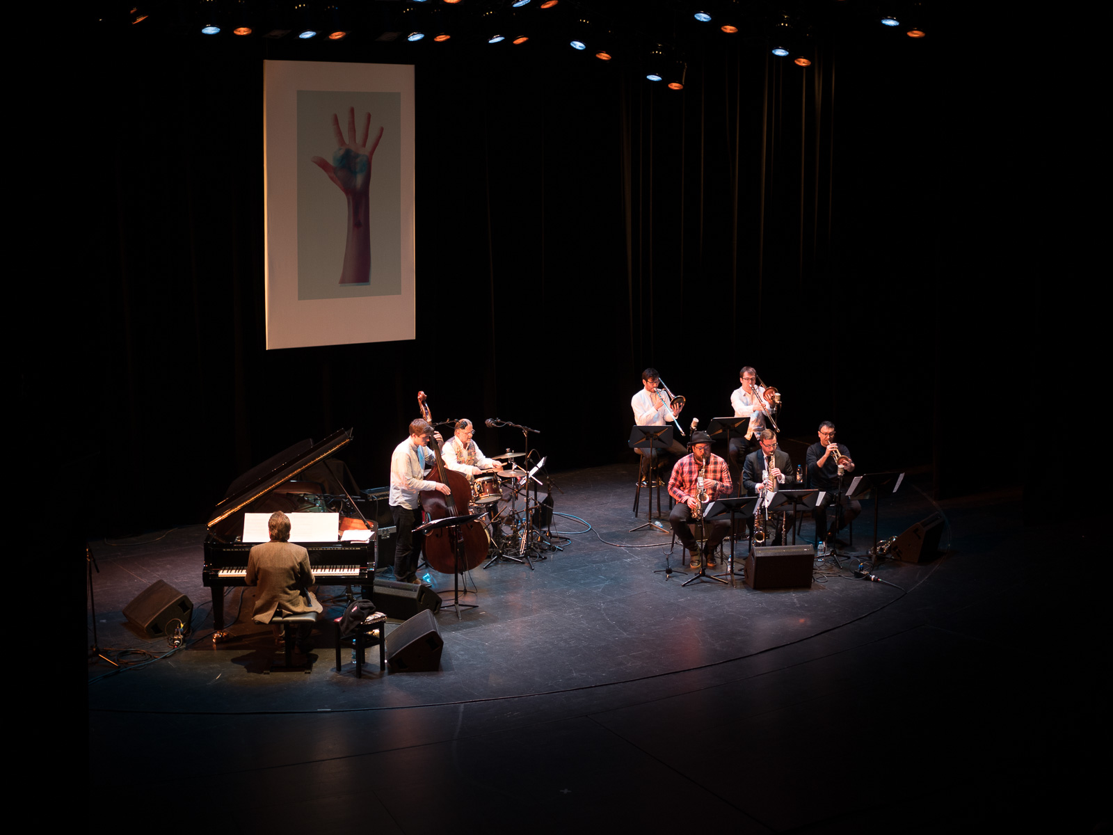 Keith Tippett Octet beim Jazzfest Berlin. Foto: Martin Hufner